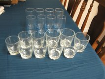 Dinner Glasses-Two Sets $5 total in Kingwood, Texas