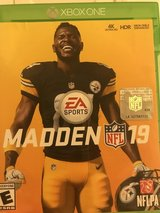 Madden 19 Xbox one in Oswego, Illinois