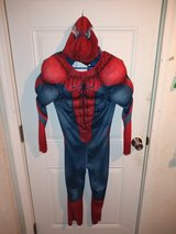 Spider-Man costume in Fort Campbell, Kentucky