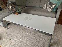 Refinished coffee table in Naperville, Illinois
