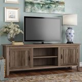 """Shreffler TV Stand for TVs up to 78"""" Grey Wash  New In Unopened Box in Warner Robins, Georgia"""