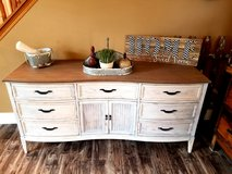Refinished Weathered  & Chippy Dresser / Buffet in Chicago, Illinois