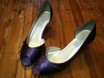 NEW- Peep Toe Pumps Purple never worn -size 9 in Kingwood, Texas