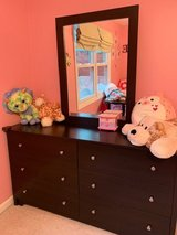 Dresser with mirror and nightstand in Chicago, Illinois