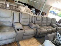 Love Seat with set available in the tent in Fort Campbell, Kentucky