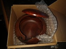 Wooden Yarn bowl with lid - BNIB in Camp Lejeune, North Carolina
