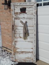 Weathered/Rustic Snowman Door-'Let It Snow' in Joliet, Illinois