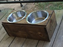 Dog Bowl holder custom in Fort Campbell, Kentucky