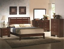"""Evan"" Bedroom Suite - Wood Headboard in Kingwood, Texas"