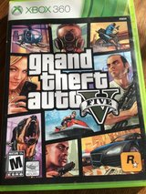 Grand theft auto five X BOX 360 in Fort Riley, Kansas