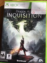 Dragon Age Inquisition X BOX 360 in Fort Riley, Kansas