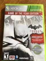 Batman- Arkham City - X BOX 360 in Fort Riley, Kansas