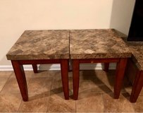 Monticello Marble End Table in Fort Campbell, Kentucky