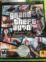 grand theft auto Episodes From Liberty City X BOX 360 in Fort Riley, Kansas