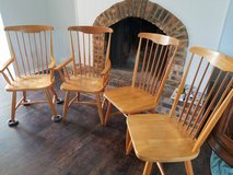 Four chairs solid wood in Naperville, Illinois