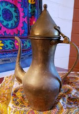 Moroccan Hand Hammered Copper Coffee Pot in 29 Palms, California