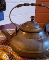 Antique 18th century Copper Teapot - Hand Hammered in 29 Palms, California