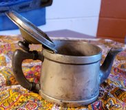 Antique Silver Single Serving Teapot in 29 Palms, California