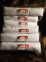 Six Rolls of New Snow Blanket in Alamogordo, New Mexico
