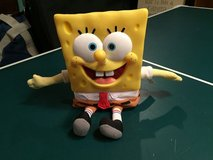 Nickelodeon Viacom Talking Sponge Bob Square Pants Plastic Doll in Glendale Heights, Illinois