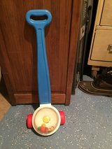 Vintage Fisher Price Corn Popper Push Toy in Glendale Heights, Illinois