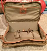 Vintage Samsonite Cloth Tweed Luggage Suitcase in Glendale Heights, Illinois