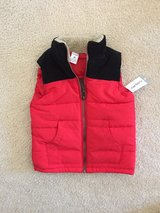 BRAND NEW WITH TAG - Toddler Boy Carters Red Puffer Vest - size 4t in Chicago, Illinois