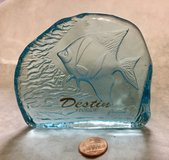 Fish Paperweight from Destin Florida in Naperville, Illinois