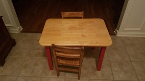 Childs Wood Table & Chairs in Chicago, Illinois