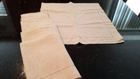 8 Beige Cloth Napkins in Aurora, Illinois
