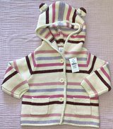 NWT BABY GIRL HOODED SWEATER in Glendale Heights, Illinois