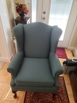 Wing-back Upholster Chair LIKE NEW in Fort Leonard Wood, Missouri