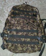 camo backpack in Camp Pendleton, California