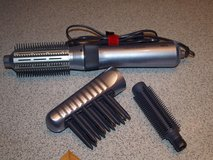 Braun Hot Air Styling Brush with 3 Attachments (Like New) in Wiesbaden, GE
