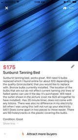 Sunburst Tanning Bed in Fort Campbell, Kentucky