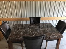 Kitchen Table & 4 Chairs 60L x 38W x 30T in Fort Knox, Kentucky