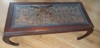 Beautiful, carved coffee table from Thailand in Stuttgart, GE