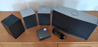 LG Music Flow - Wireless MultiRoom Audio solution (4 speakers + bridge) - WiFi/Ethernet/ChromeCa... in Wiesbaden, GE
