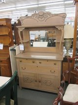 Antique Two Piece Sideboard in Glendale Heights, Illinois