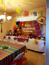 Mexican Fiesta Party Theme in Kingwood, Texas