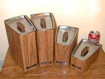 Retro Eames Style Kitchen Canisters in Chicago, Illinois