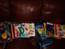 backpacks with school supplies in Kingwood, Texas