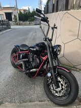 "Dragstar, Thugstar"" 1100cc Bobber custom in Okinawa, Japan"