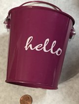 """4"""" Cute Buckets for Plants in Bolingbrook, Illinois"""
