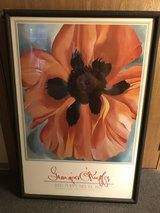 Georgia O'Keefe Red Poppy Print in Plainfield, Illinois