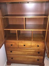 Solid maple dresser in Oswego, Illinois
