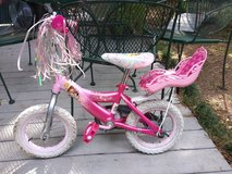 "Girls pink bike 12"" tires in Kingwood, Texas"