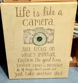Life is like a Camera Canvas Wall Art in Glendale Heights, Illinois