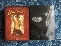Star Wars and Indiana Jones Trilogies (DVD) in Stuttgart, GE