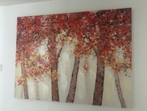 Tree in Fall Print, approx 4'x3' in Ramstein, Germany